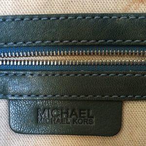 MICHAEL - MICHAEL KORS Dark Green Leather Bag